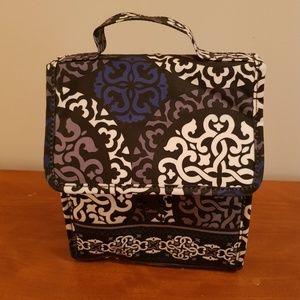 Vera Bradley lunch box Canterberry Cobalt